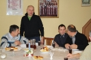 Спільне колядування у церковній світлиці в Ґіжицьку 2014
