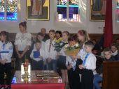 Привітання нового пароха та катехета у Венгожеві 2016 (2)