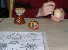 У Собєхах і Будрах діти пишуть писанки