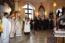 Божественан Літургія у храмі Пресвятої Трійці