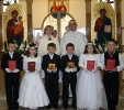 У Видмінах відбулася Перша Сповідь і Урочисте  Святе Причастя 2011