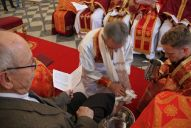 Митрополит Євген Попович звершив Чин умивання ніг у Варшаві _10