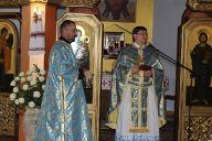Служба Божа і благословення дітей в парафії Пресвятої Тройці в Гіжицьку на початок навчального року 2016 (2)